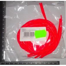 Кембрик д. 2,0×3,0 флюоресц. красный