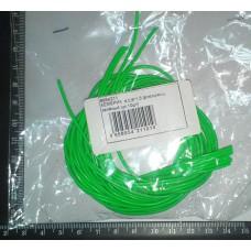 Кембрик д. 0,8×1,5 флюоресц. зеленый  упак.=10м