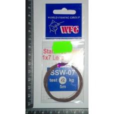 Поводковый материал SSW 1*7 5м 5кг
